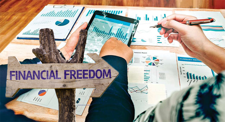 Reaching Financial Freedom - A Very simple Plan to Go From Start to Finish